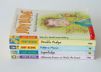 Lot of 5 Judy Blume FUDGE SERIES Complete Set Chapter Books