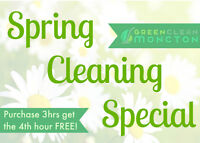 Home Spring Cleaning Special | 100% Non-Toxic Cleaning