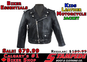 Kids Leather Jacket Kijiji In Alberta Buy Sell Save With