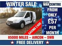 FORD TRANSIT CONNECT 200 SWB 1.8 TDCI SIDE DOOR AIR CON WAS £6000 SAVE £330