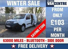 RENAULT KANGOO MAXI LL21 DCI LWB BLUE TOOTH SIDE DOOR WAS £5770 SAVE £500