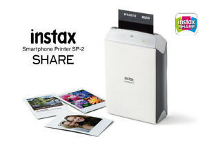 Fujifilm Instax Mini Share Printer SP2 SILVER - NEW IN BOX