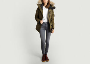 Canada Goose Womens Montebello Military Green Large