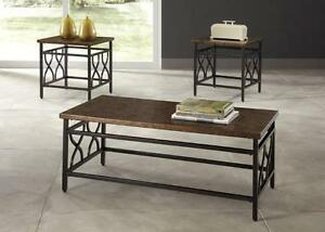 *** USED *** ASHLEY TIPPLEY COFFEE/END TABLES   S/N:51196336   #STORE558
