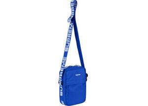 Blue Supreme Shoulder Bag