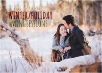Now is the Time to Book Your Holiday/Winter Mini Photo Sessions!