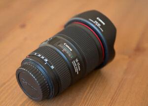 Canon Lens Lentille Objectif EF 16-35mm F4 L