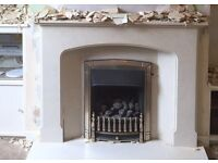 Gas fire place Surround and Hearth