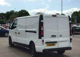 2018 Vauxhall Vivaro L2 Diesel 2900 1.6CDTI 120PS Sportive H1 Van Panel Van Dies
