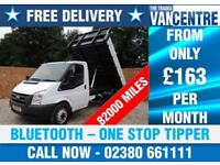 FORD TRANSIT 350 ONE STOP ONE WAY TIPPER MWB 100 BHP BLUETOOTH 3 SEATS