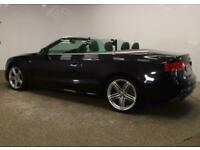 2013 Audi A5 CABRIOLET 2.0 TDI S line Cabriolet Multitronic 2dr Convertible Dies