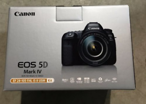 ★Canon EOS 5D Mark IV DSLR with 24-105 II KIT ★1YEAR WARRANTY★