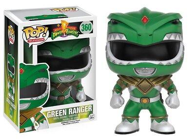 Funko   Pop Tv  Power Rangers   Green Ranger  360 Vinyl Action Figure New In Box