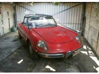 1967 Alfa Romeo Spider Spider 1600 Duetto Manual