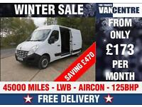 RENAULT MASTER LWB LM35 125 BHP 6 SPEED AIR CON WAS £9470 SAVE £470