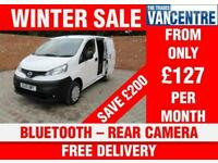 NISSAN NV200 ACENTA DCI SWB BLUETOOTH REAR CAMERA