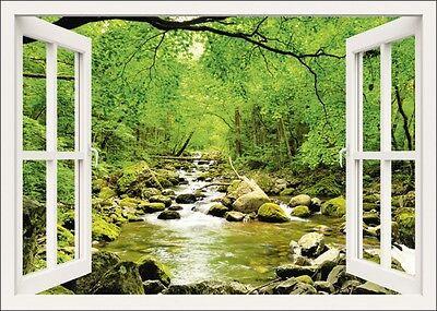 Fenster Poster (Poster oder Leinwand Bild tupikov Landschaften Fensterblick Fotografie Weiß B9VK)