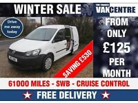 VW CADDY STARTLINE C20 BLUEMOTION TECH CRUISE CONTROL WAS £7000 SAVE £530