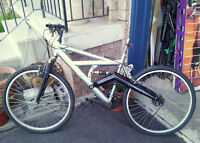 MENS MOUNTAIN BIKE - FRAME & OTHER PARTS ONLY