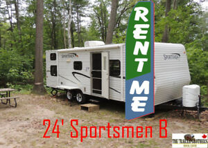 House Sold? Travel Trailers for RENT