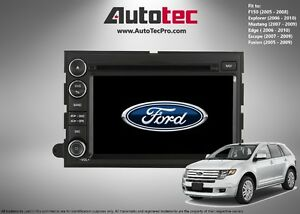 Ford EDGE OEM-Fit HD Navigation GPS DVD BT System (2007 - 2009)