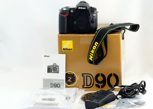 Nikon D90 12.3 MP DSLR Camera In The Box With Accessories