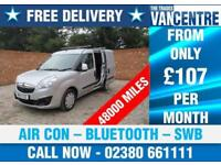 VAUXHALL COMBO 2000 L1 H1 SPORTIVE SWB AIR CON BLUETOOTH