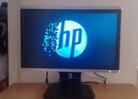"HP 22"" LCD monitor widescreen"