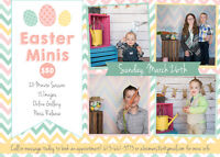 Easter Mini Sessions with Bunny