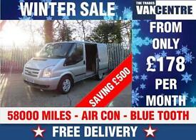 FORD TRANSIT 260 LIMITED SWB 140 BHP CRUISE CONTROL WAS £9770 SAVE £500