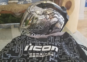 Icon Mechanica Helmet, great condition, Size Large