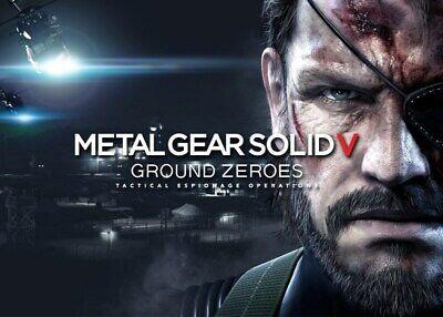 Metal Gear Solid V Ground Zeroes | Steam Key | PC | Digital | Worldwide