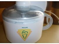 Philips HR2303 Ice Cream Maker