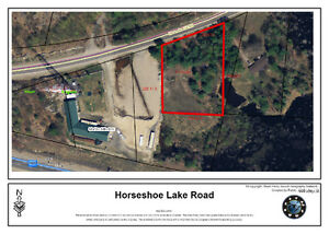 Vacant residential land not on water.