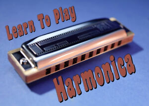 Learn to play the Harmonica! Blues, Rock, Country