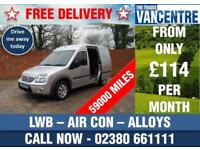 FORD TRANSIT CONNECT T230 LIMITED LWB 110 BHP AIR CON ALLOYS