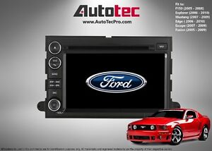 Ford Mustang OEM-Fit HD Navigation GPS DVD BT System (2007-2009)