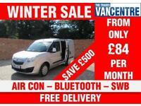 VAUXHALL COMBO L1 H1 SPORTIVE SWB AIR CON BLUETOOTH