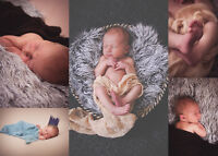 New Born Sessions, natural posing, soft lighting, in home!!