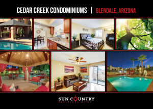 Cedar Creek Condominiums - Modern Units in Glendale!