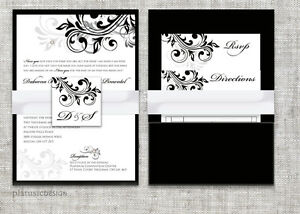 CUSTOM DESIGNER WEDDING INVITATIONS HAMILTON ON Oakville / Halton Region Toronto (GTA) image 3