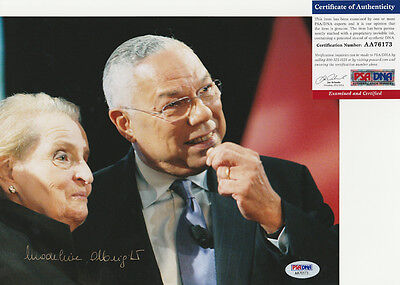Madeleine Albright Secretary Of State Signed Autograph 8X10 Photo Psa Dna Coa  3