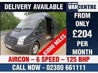 FORD TRANSIT 350 LWB HIGH ROOF 2.2 TDCI 125 BHP 6 SPEED AIR CON HEATED SCREEN