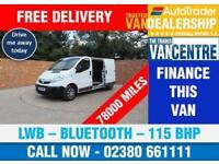 VAUXHALL VIVARO 2900 2.0 CDTI LWB 115 BHP BLUETOOTH 3 SEATS