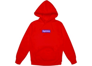 WTB SUPREME F17 box logo hooded sweater in XL