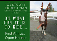 Open House! Pony Rides, Santa, and more!