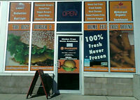Real Burger Company Waterdown now Hiring Part time Help!