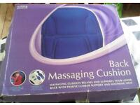 Back massaging cushion (m&s) never been used