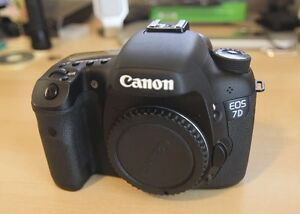 Lightly used Canon 7D