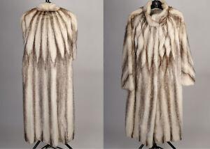 Beautiful Brown Cross Mink Coat